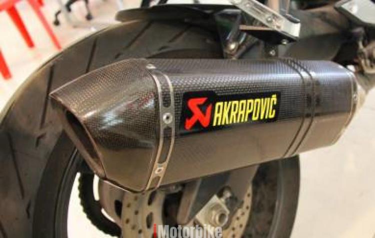 2012 Yamaha Fz8 Akrapovic