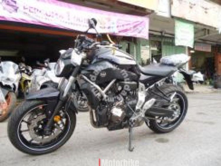 2017 Yamaha MT-07 CKD
