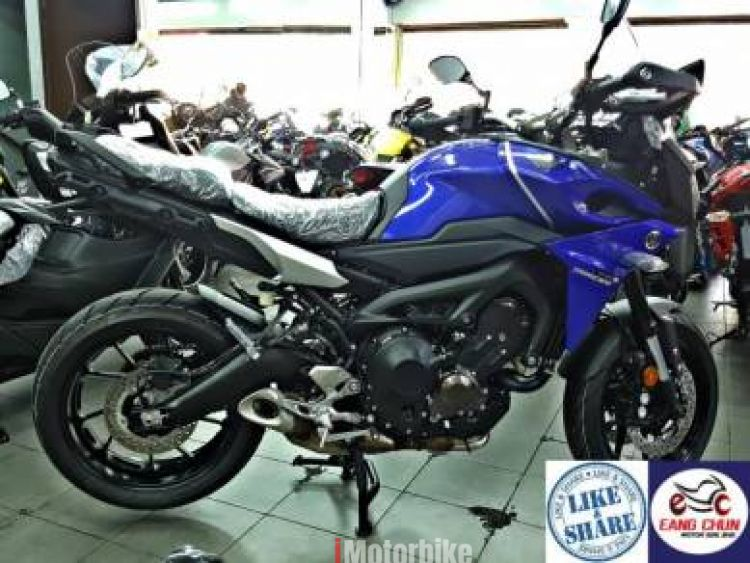 2017 Yamaha MT-09 Tracer -23 item- Exhaust Slip On CNY