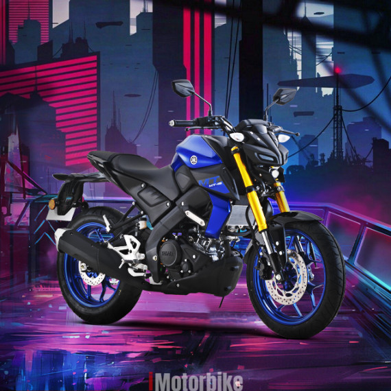 Yamaha XSR 155 is a retro-style motorcycle powered by the
