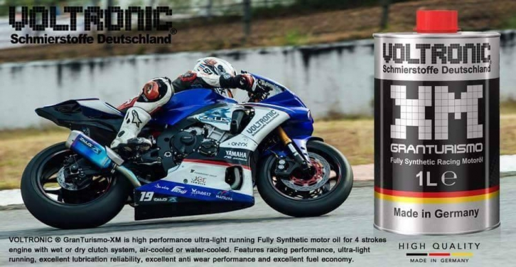 Yamaha R6 Voltronic Fully Synthetic Racing Oil 1L