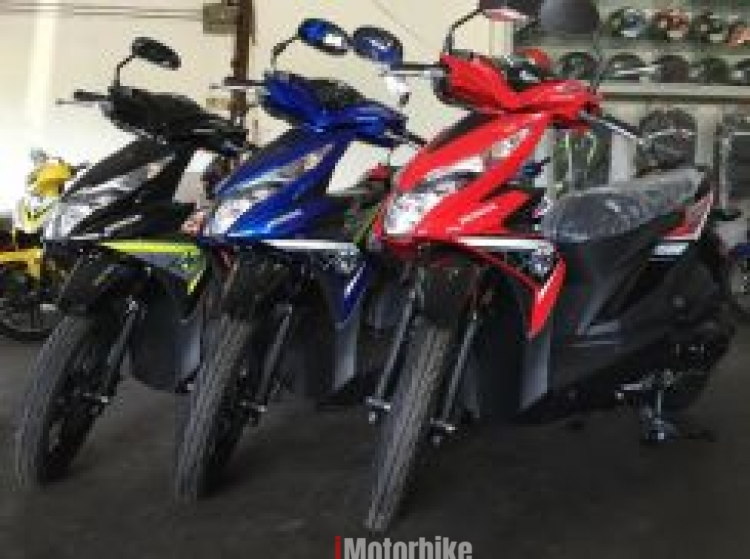 2017 HONDA Scooter BEAT 110Fi Apply WASAP - EGO - Red