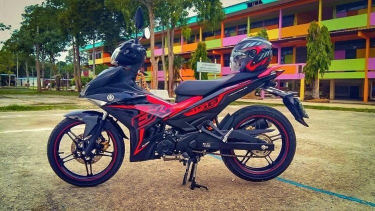 YAMAHA Y15ZR BODY COVER SET EXCITER 2016 RED ORI