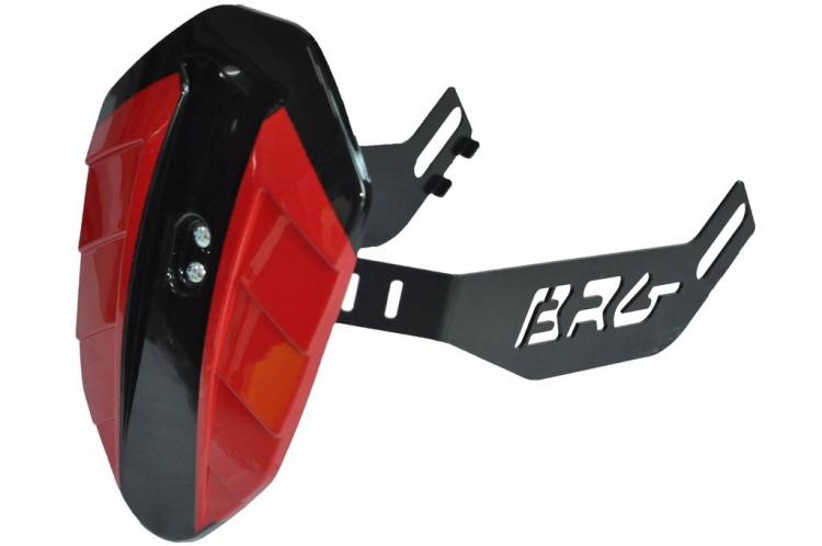 YAMAHA Y15ZR SPLASH GUARD BRG - RED BLACK