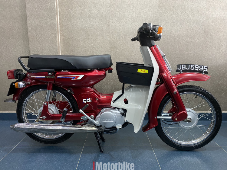 1985-Yamaha Y80(1 owner used,good condition)