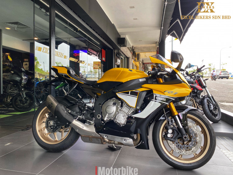 Yamaha R1 60TH Anniversary Unregistered NOT RECON