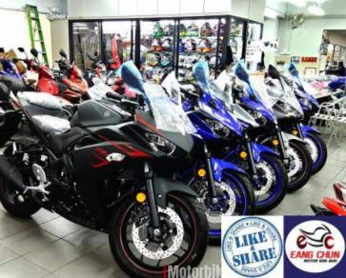 2017 R25 Yamaha YZF- R25 Must View - Year End Sales