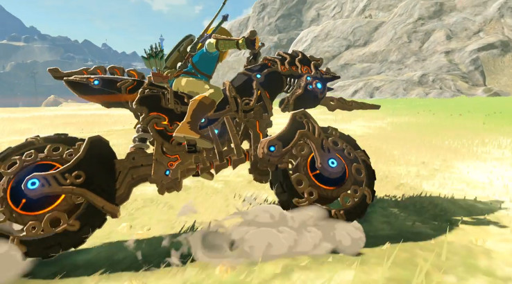 Link gets to ride a bike in breath of the wild 39 s new dlc expansion imotorbike news - How do you get the master cycle zero ...