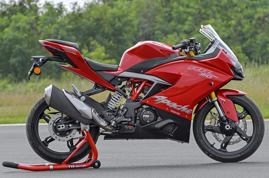 2018 Tvs Apache Rr 310 Launched From 0 100km H In Just 2 9