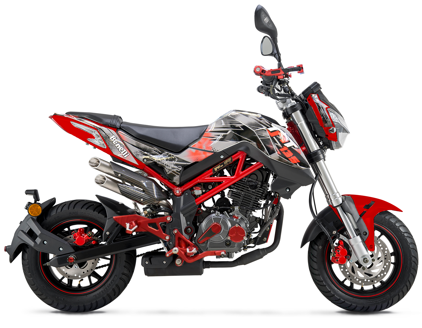 Benelli tnt 135 le launched in malaysia imotorbike mforce bike holdings the malaysian distributor for benelli keeway and sym motorcycles has just launched the benelli tnt 135 le with the le in its name altavistaventures Image collections