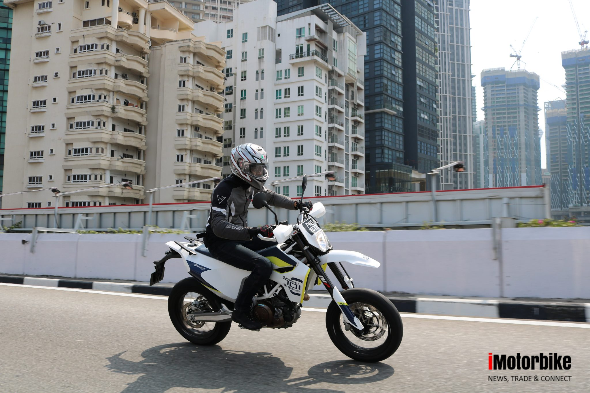 QUICK SPIN: Husqvarna 701 Supermoto - an oddball or a great all