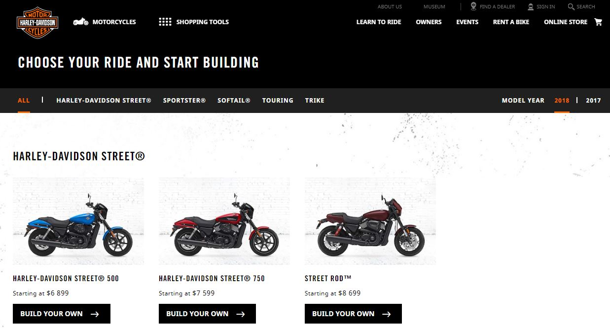 Customizing a Harley with just a few clicks - iMotorbike News