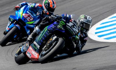 Maverick Viñales (Monster Energy Yamaha) in Spanish GP
