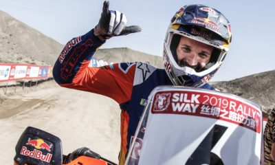 Sam Sunderland Silk Way Rally