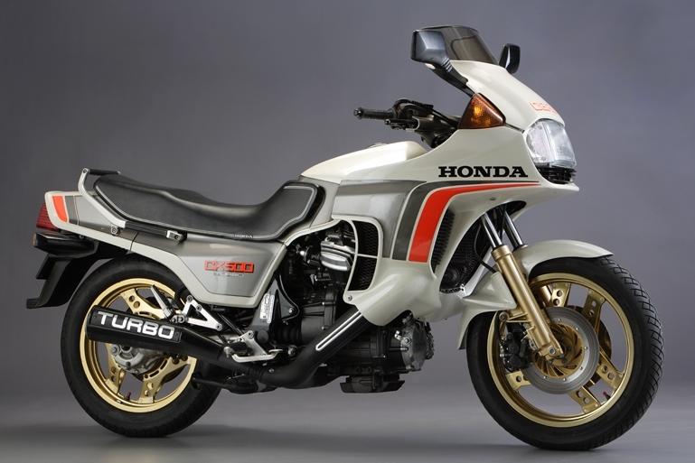 The 1982 Honda CX500 Turbo