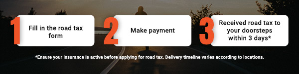 renew road tax online