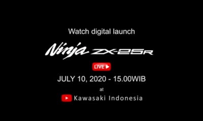 Kawasaki Ninja ZX-25R Launch Indonesia