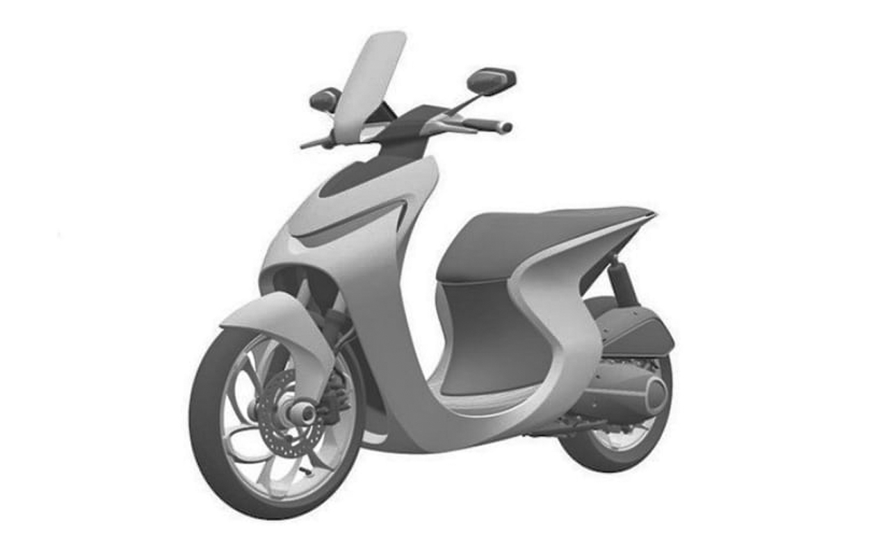 Honda Scooter Patent