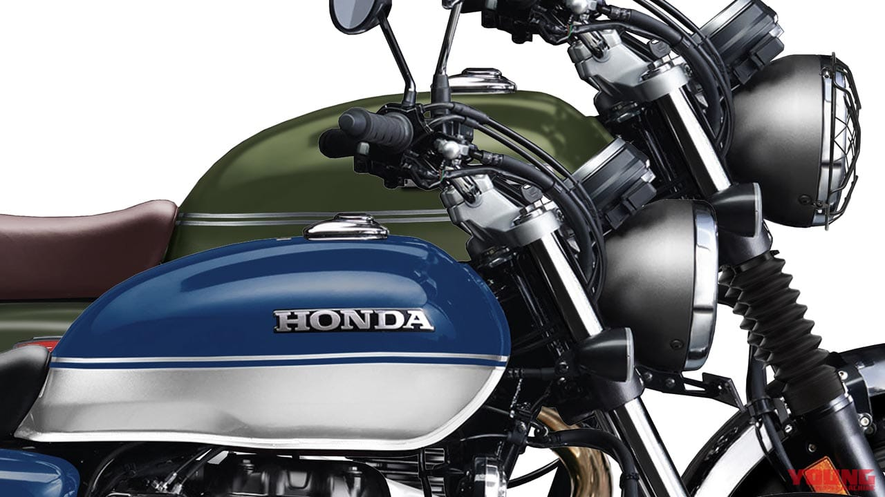Honda H'ness CB350 scrambler is on the way?