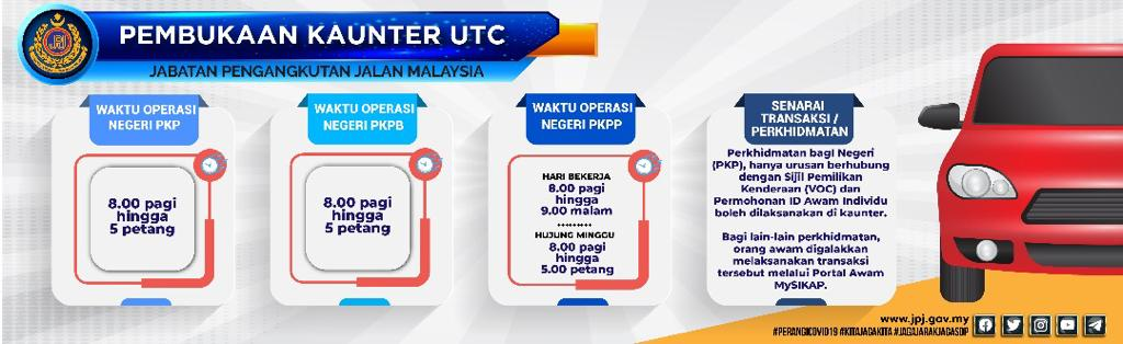 JPJ Services & Operating Hours During MCO 2.0 - iMotorbike ...