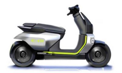Husqvarna E-01 electric scooter