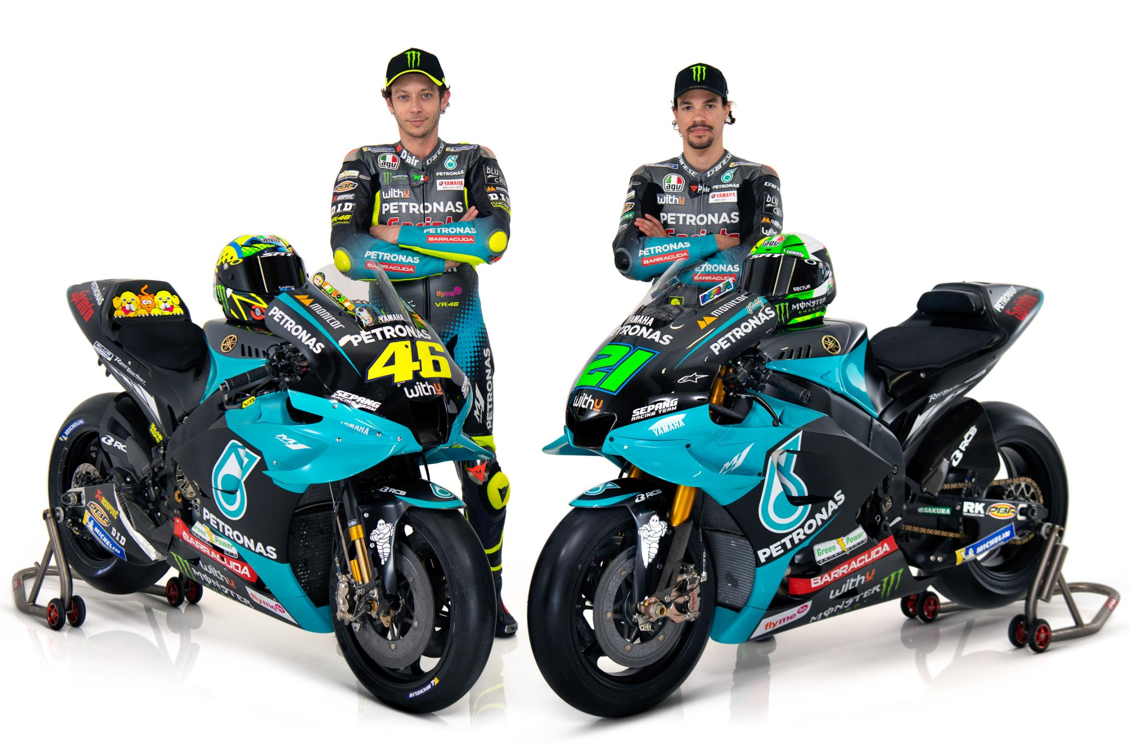 Petronas Yamaha Sepang Racing Team shows off 2021 colours