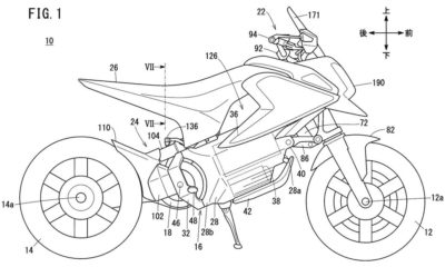 Honda's latest patent combines fun-size and green technology.