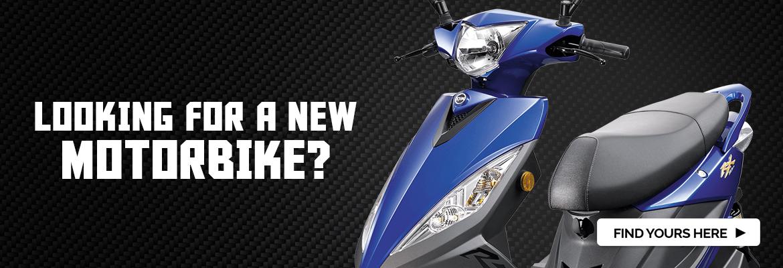 Buy a new motorbike